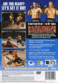 UFC Sudden Impact PlayStation 2 Back Cover