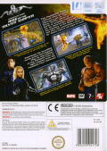 Fantastic Four: Rise of the Silver Surfer Wii Back Cover