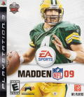 Madden NFL 09 PlayStation 3 Front Cover