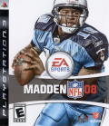 Madden NFL 08 PlayStation 3 Front Cover