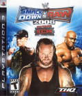 WWE Smackdown vs. Raw 2008 PlayStation 3 Front Cover