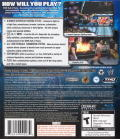 WWE Smackdown vs. Raw 2008 PlayStation 3 Back Cover