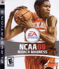 NCAA March Madness 08 PlayStation 3 Front Cover