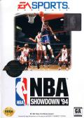 NBA Showdown Genesis Front Cover