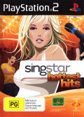 SingStar Hottest Hits PlayStation 2 Front Cover