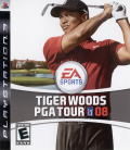 Tiger Woods PGA Tour 08 PlayStation 3 Front Cover