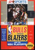 Bulls vs. Blazers and the NBA Playoffs Genesis Front Cover