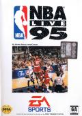NBA Live 95 Genesis Front Cover
