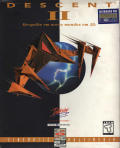 Descent II DOS Front Cover