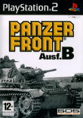 Panzer Front Ausf. B PlayStation 2 Front Cover