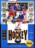 NHLPA Hockey '93 Genesis Front Cover