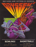 Bowling! / Basketball! Odyssey 2 Front Cover