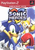 Sonic Heroes PlayStation 2 Front Cover