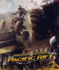 MotorStorm: Pacific Rift PlayStation 3 Inside Cover Left