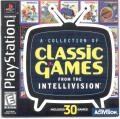 A Collection of Classic Games from the Intellivision PlayStation Front Cover