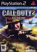 Call of Duty 2: Big Red One PlayStation 2 Front Cover