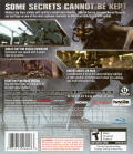 BlackSite: Area 51 PlayStation 3 Back Cover