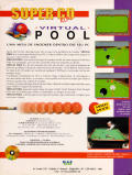 Virtual Pool DOS Back Cover