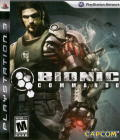 Bionic Commando PlayStation 3 Front Cover