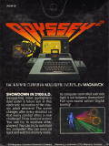 Showdown in 2100 A.D. Odyssey 2 Back Cover