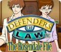 Defenders of Law: The Rosendale File Windows Front Cover