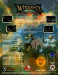 Witchaven II: Blood Vengeance DOS Back Cover