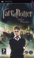 Harry Potter and the Order of the Phoenix PSP Front Cover