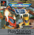 Micro Machines V3 PlayStation Front Cover