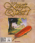 Roberta Williams' King's Quest I: Quest for the Crown DOS Front Cover