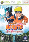 Naruto: The Broken Bond Xbox 360 Front Cover
