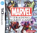 Marvel Trading Card Game Nintendo DS Front Cover