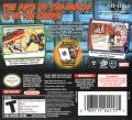 Marvel Trading Card Game Nintendo DS Back Cover