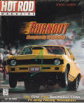 Burnout: Championship Drag Racing DOS Front Cover
