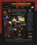 Wing Commander IV: The Price of Freedom DOS Back Cover