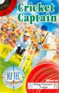 Cricket Captain Commodore 64 Front Cover