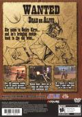 Samurai Western PlayStation 2 Back Cover