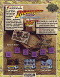 Indiana Jones and the Last Crusade: The Action Game DOS Back Cover