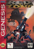 Red Zone Genesis Front Cover