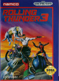 Rolling Thunder 3 Genesis Front Cover
