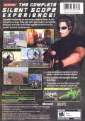 Silent Scope Complete Xbox Back Cover