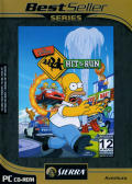 The Simpsons: Hit & Run Windows Front Cover