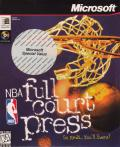 NBA Full Court Press Windows Front Cover