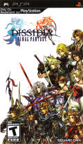 Dissidia: Final Fantasy PSP Front Cover