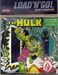 The Hulk Atari 8-bit Front Cover