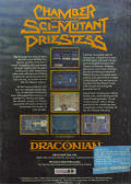 Chamber of the Sci-Mutant Priestess DOS Back Cover