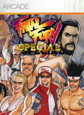 Fatal Fury Special Xbox 360 Front Cover