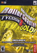 RollerCoaster Tycoon 3 Gold! Windows Front Cover