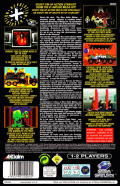 Revolution X SEGA Saturn Back Cover