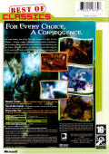 Fable: The Lost Chapters Xbox Back Cover
