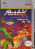 Abadox: The Deadly Inner War NES Front Cover